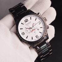 Curren Brand Men's Atmosphere Watch Calendar, Stainless Steel Belt Japan Movt Quartz Watch, Free Shipping