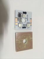 DC12V WS2811 LED pixel PCBA;0.72W;3pcs 5050 SMD RGB LED;32*32mm