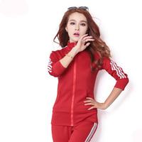 Autumn and winter hot sale women clothing set tracksuits,blusas femininas sport suit women brand for female,jogging suits