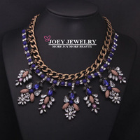 JOEY New Necklace Fashion Luxury Crystal Pendant Necklaces Gem Jewelry Chokers Necklaces Diamon d Jewelry FreeShipping JA14198