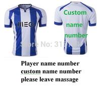all player Futebol Porto cf Rodriguez Moutinho Martinez Top Thailand Quality football shirt soccer jersey custom name shorts