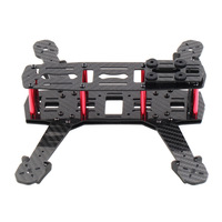 Carbon Fiber 250mm 250 Mini FPV Quadcopter Frame Kit  (Unassembled)