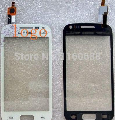 Касание планшета стекло экран для samsung Galaxy Ace 2 i8160 перед панель белый цветок цвет