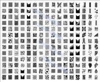208 Designs XXL BIG Stamping Plate Full Design Nail Art Image Plate Metal Stencil Print Template Large DIY NK03