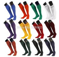 Free Shipping 2015 Men Stocking Men's Soccer Socks Towel Adult Thickening Sports Socks 12 Colors Summer Football Socks Wholesale