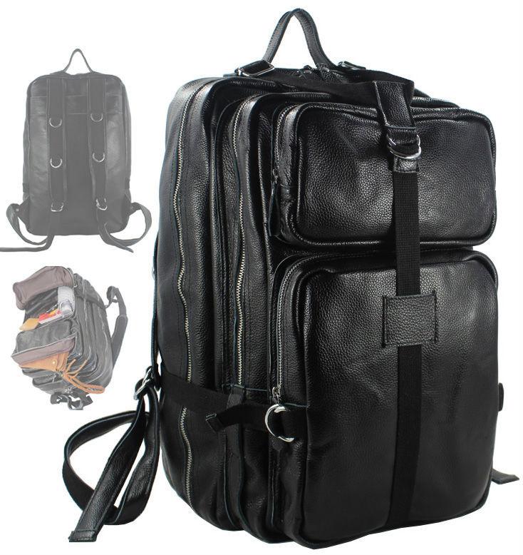 Handmade Vintage Crazy Horse Leather Men Travel Bags Big Luggage ...