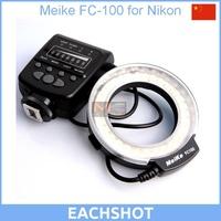 Meike FC-100 for Nikon,Canon FC100 Macro Ring Flash/Light for Nikon D7100 D7000 D5200 D5100 D5000 D3200 D310