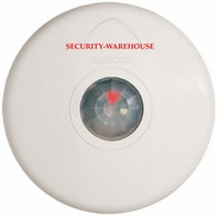 Positive : ceiling wired infrared detector / thin / installation height 6 m / 13 m diameter of the probe / ceiling
