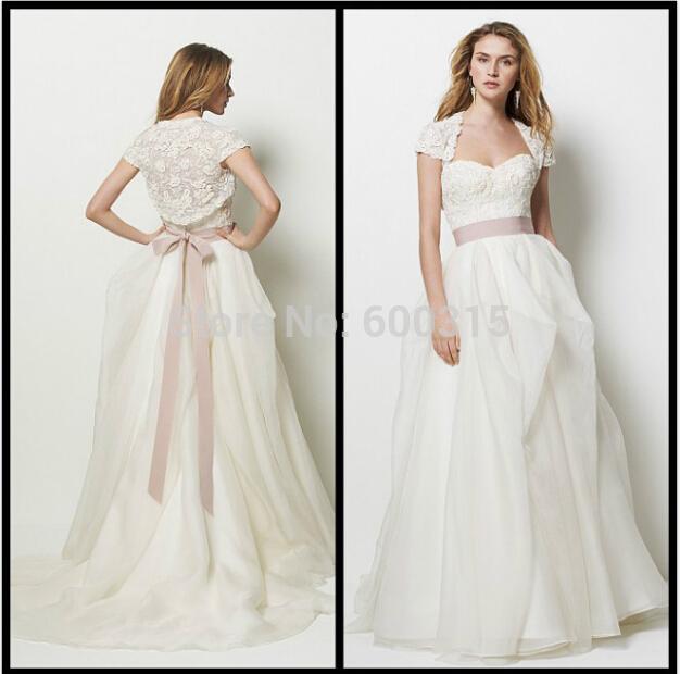 Ivory Wedding Dresses With Sleeves Plus Size Sleeve Plus Size Wedding