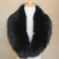 New 2014 Winter Scarf Women Fox Fur Collar Rabbit Fur Collar Raccoon Fur Collar Wool Caps Article Fake Collar Warm Scarves