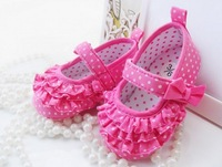 Free shipping 2014 Newborn princess toddler shoes bling comfortable soft girls baby shoes 11cm 12cm 13cm