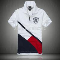 2014 New Men's Short T Shirt Tops Casual Big size Short Sleeve Cotton Men T-shirt Size Brand Man Tee M L XL XXL 3XL