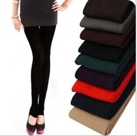 Winter plus thick velvet pants single step charcoal brushed pantyhose leggings pants women legging