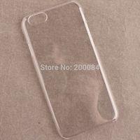 "10x For iphone 6 iphone6 4.7"" 4.7 clear plastic crystal hard phone case capa cover carcasa funda housse coque Custodia kryty"