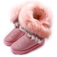 Korean2014 high-grade women boots high tassel fur boots women's shoes to keep warm xx267