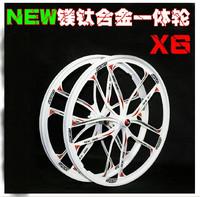 Peilin Bearing overall wheel mountain bike disc brakes magnesium titanium alloys overall wheel card rotodyne 5 cutter wheel