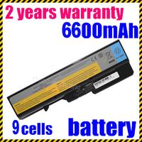 100% NEW 9Cells Latpop Battery For Lenovo For IdeaPad G575G G770 G780 V360A V370 V370A V370G V370P V470 V570 Z370 Z460 Z460A