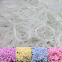 10pack/lot Hot Sale UV Change Color Rubber Loom Bands Refill For DIY Loom Bracelets Making Kit (300pcs Bands)
