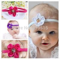 lovely mini flower elastic baby hairband