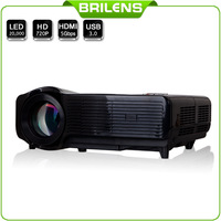 3500 lumens Projector HD 1280*768 led tv blue film movies video projetor home theater mini projector led projector data show