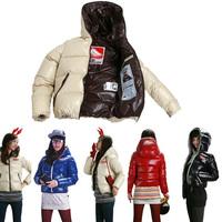 Super Warm Thicken Winter Fashion Leisure Short  Casual  Dress Women Winter Comfortable Cotton Padded Coats YFZ16