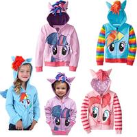 New 2014 children outerwear. Cartoon rabbit fleece sets girls who garment cap unlined upper garment coat, kids grils clothes,