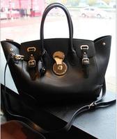 Designers Women's Famous Brands Women Bag OL Big Shoulder Bag Black Women Handbag Vintage Women Messenger Bags bolso mensajero