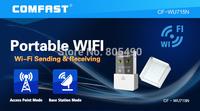 Mini USB Wireless N 802.11 b/g/n WiFi Adapter Wi-Fi Dongle High Gain 150Mbps Ralink 5370 chipset COMFAST CF-WU715N