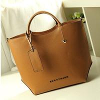 2015 New design!! Fashion women shoulder bag Vintage women pu leather handbag Casual high quatity women tote