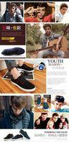 Men's breathable Leisure shoes Low shoes canvas shoes Spring autumn single shoes