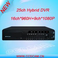 h.264 standalone Hybrid DVR 25ch