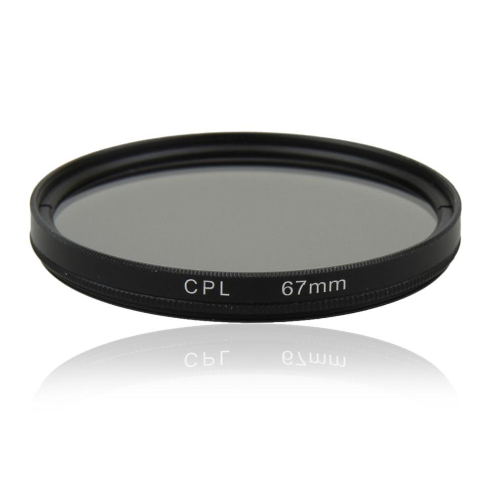67mm Circular Polarizing Polarizer CPL Filter for Canon Nikon Sony Olympus Fujifilm Panasonic Pentax DSLR SLR Camera 67mm Lens(China (Mainland))