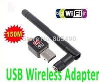 Mini USB Wireless N 2dbi 150Mbps USB WiFi Adapter 150M Wireless Adapter LAN w/Antenna Raspberry Pi ralink rt5370 Chip