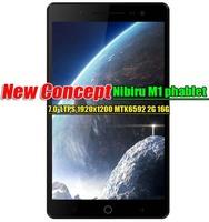 "Nibiru M1 phablet  7.0"" LTPS 1920X1200 3G Wcdma MTK6592 Octa Core1.7G 2G RAM 16G ROM Android 4.4 Mobile Phone 13.0Mp Google Play"