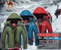 2014 Brand Fashion Down &Parkas Men's Winter Jacket Hood Breathable Outdoor Men Coat Four Colors jacket XL-4XL Men's down jacket