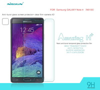 For Samsung Galaxy Note 4 N9100 Nillkin Amazing H+ Nano Anti-Burst Tempered Glass Protective Film For Galaxy Note4 Free Shipping