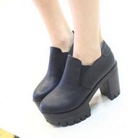 2014 fashion new platform high heels ankle boots autumn boots women boots woman shoes #J1468472Q