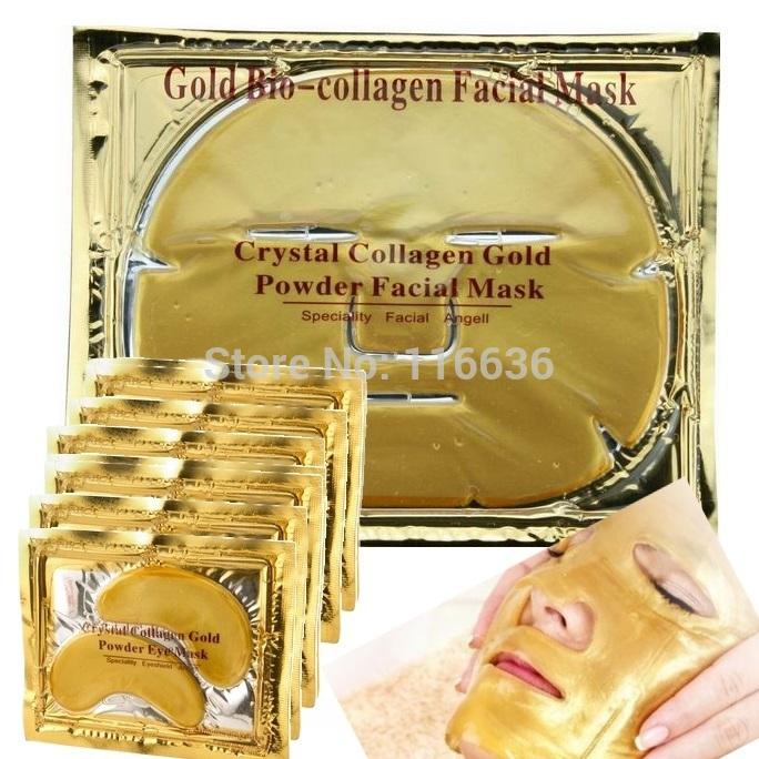 Oro gold eye patch