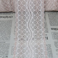 clearance ONLY 28 yards 85mm width  Elastic Stretch Lace trim sewing/garment/clothes/Apparel accessories