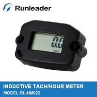 Digital Inductive Tach/Hour Meter for Motorcycle Snowmobile  Boat Generator outboard motor marine Free shipping