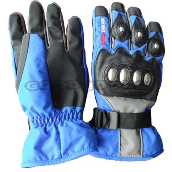 Free Sample ! PRO-BIKER Motorcycle Ski Gloves Winter Outdoor Sports Gloves Warming Waterproof  ...