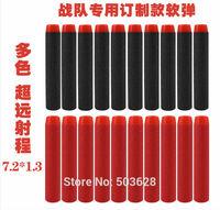 200pcs 7.2cm Round head EVA Darts for Nerf N-strike Elite Series Blasters Toy Gun soft bullets