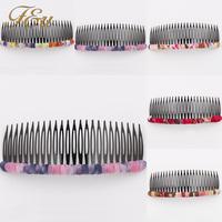 New Fashion Beauty Lady Hair Comb Clip Cuff Tassel Chain Head Headpiece Boho  #1730