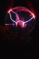 Free Shipping 4inch Plasma Ball/GlobeRomantic Bear Plasma Lighting Ball Party Light Lamp Static Lite Magic Light