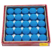50 Grain a Box Billiards Accessories 10mm Leather Head Snooker Cue Tip Head Free Shipping