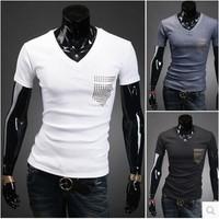 T Shirt Hip Hop Men'S Clothing Camisetas De Marca Roupas Masculinas Funny T Shirts Fitness Men 2014 Men Fashion Tshirts Brand