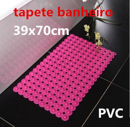Hot Sale PVC carpet mats doormat kitchen bathroom bath mats absorbent non-slip mat (39 * 70) tapete banheiro can be customized(China (Mainland))