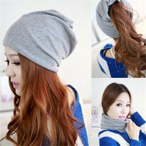 New Design 2014 Fashion Casual Lady Beret Beanie Warm Winter Cotton Hat Cap for Women 5Colors