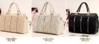 Women's Lace Handbag Vintage Shoulder Bags Messenger Bag Female Tote Girl bolsas