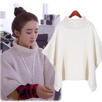 free shipping autuman new arrived 2014 new women's knitted sweater loose jackets big size xxl women women coat
